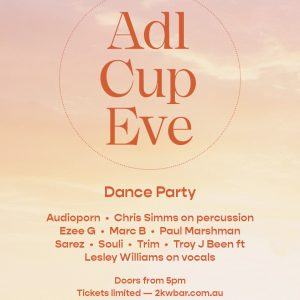 2KW Adelaide Cup Eve